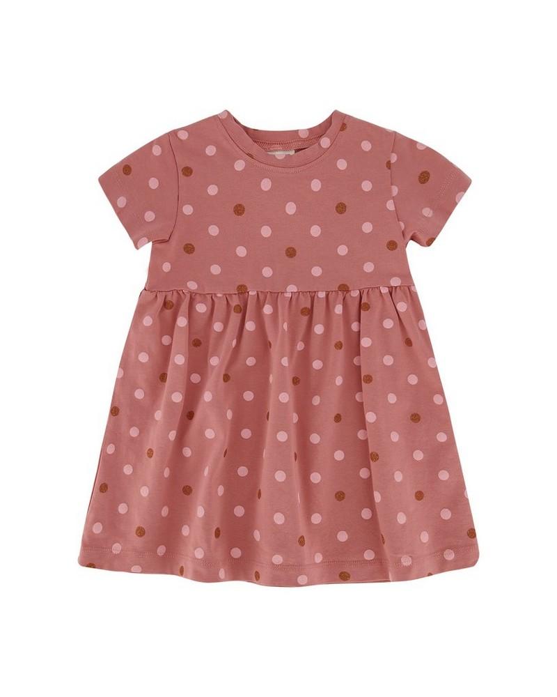 Baby Girls Bess Dress -  rust