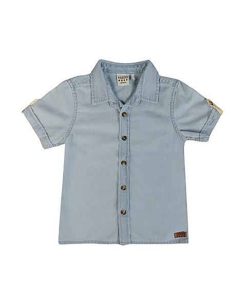 Boys Bruce Chambray Shirt -  lightblue