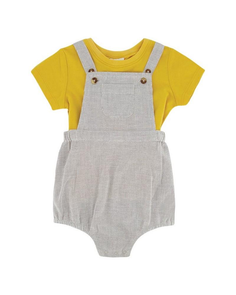 Baby Boys Emmerson Dungi Set  -  grey