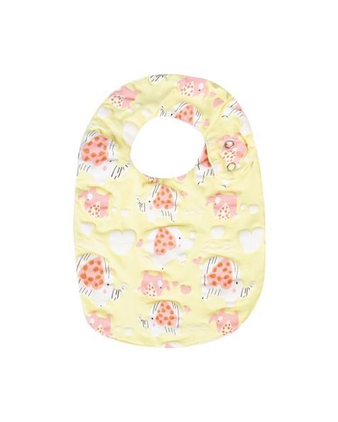 Baby Girls Piper Bib -  lemon