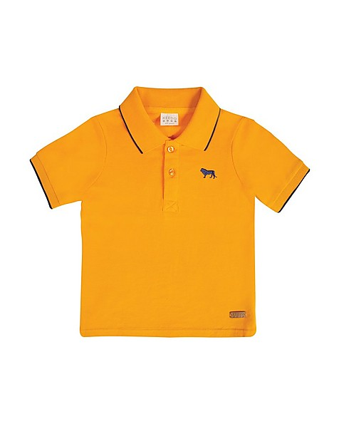 Boys Stephan Golfer -  pumpkin