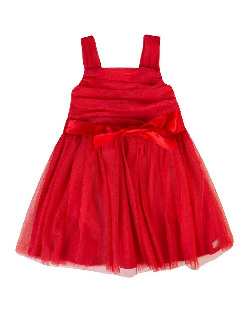 Baby Girls Carol Dress -  tomato