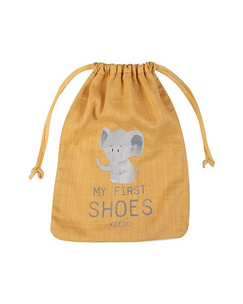 Babies Fallon Booties -  mustard