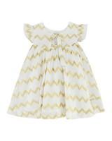 Baby Girls Dorothy Dress -  white
