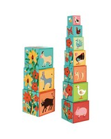 Farm Stacking Towers -  green