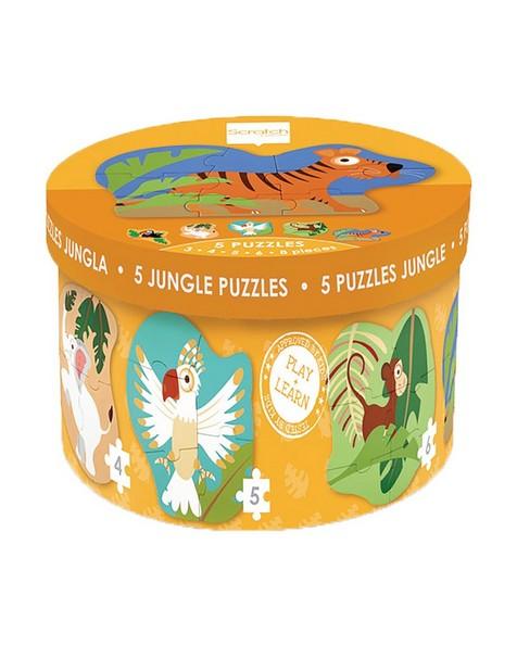 Jungle Starter Puzzles -  orange