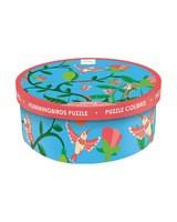 Hummingbirds Puzzle -  pink