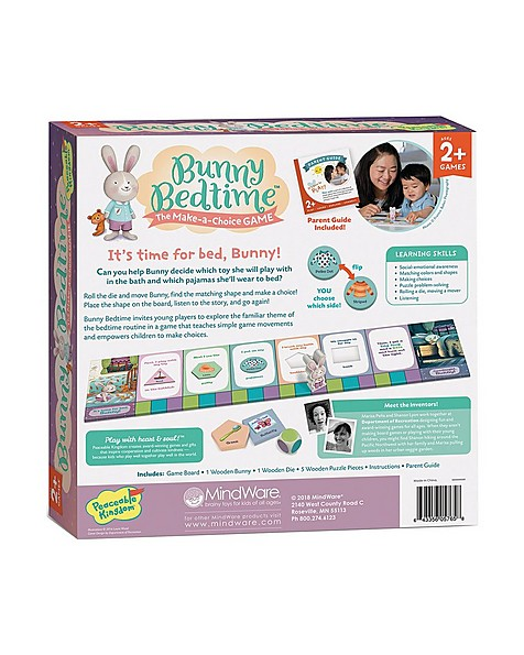 Bunny Bedtime: The Make-a-choice Game -  purple