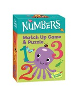 Numbers Match Up Game & Puzzle -  green