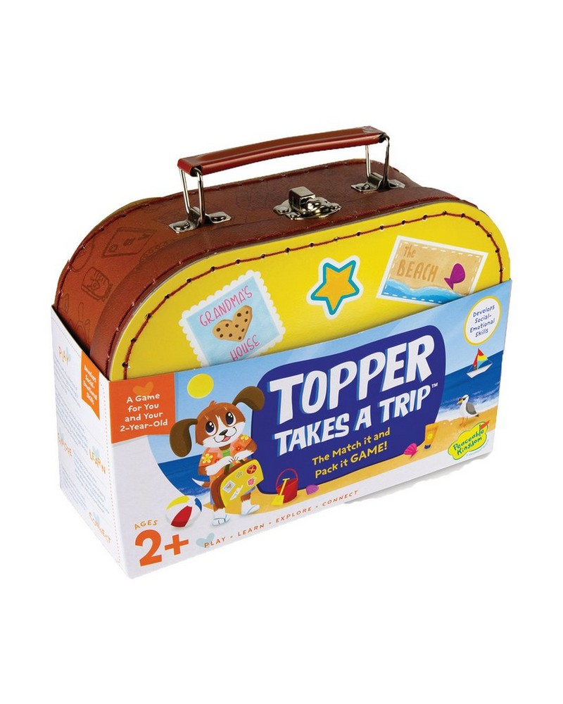 Topper Takes A Trip: The Match It & Pack It Game -  yellow