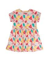 Girls Alexa Knitted Dress -  palepink