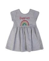 Baby Girls Elsa Knitted Dress Set -  silvergrey