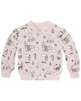 Baby Girls Emery Soft Jacket -  palepink