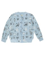 Baby Boys Will Soft Jacket -  lightblue
