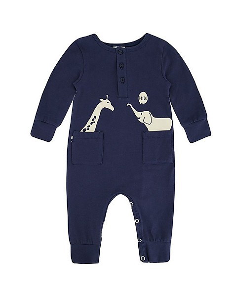 Baby Boys Justin Grow -  navy