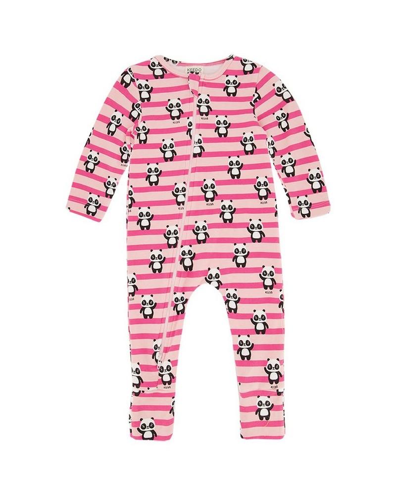 Baby Girls Emilia PJ Grow -  flamingo