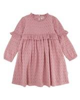 Girls Lia Dress  -  dustypink