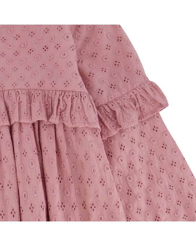 Baby Girls Lia Dress  -  dustypink