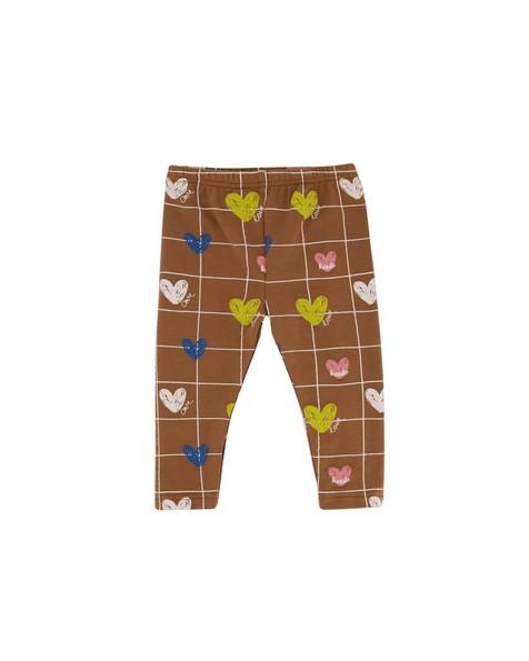 Baby Girls Heart Grid 2-Pack Leggings -  assorted