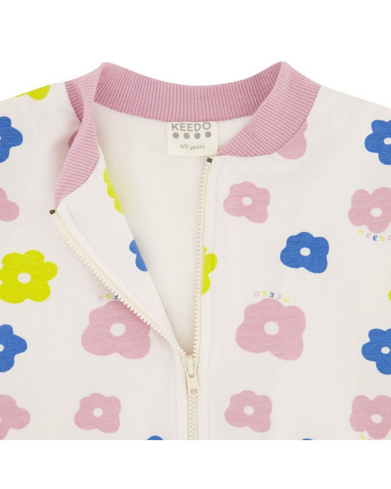 Girls Kaia Soft Jacket  -  milk