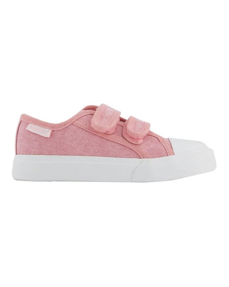 Girls Claudia Strap Sneakers  -  dustypink