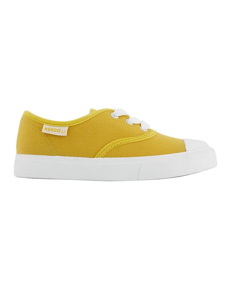 Boys Rey Plimsolls  -  mustard