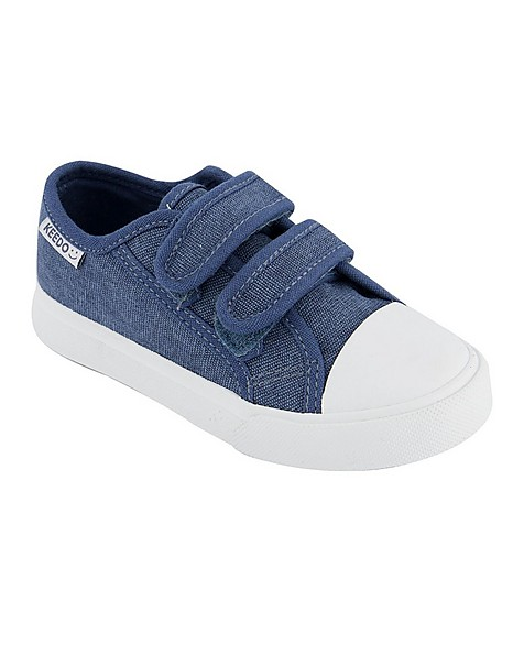 Boys Trey Strap Sneakers  -  charcoal