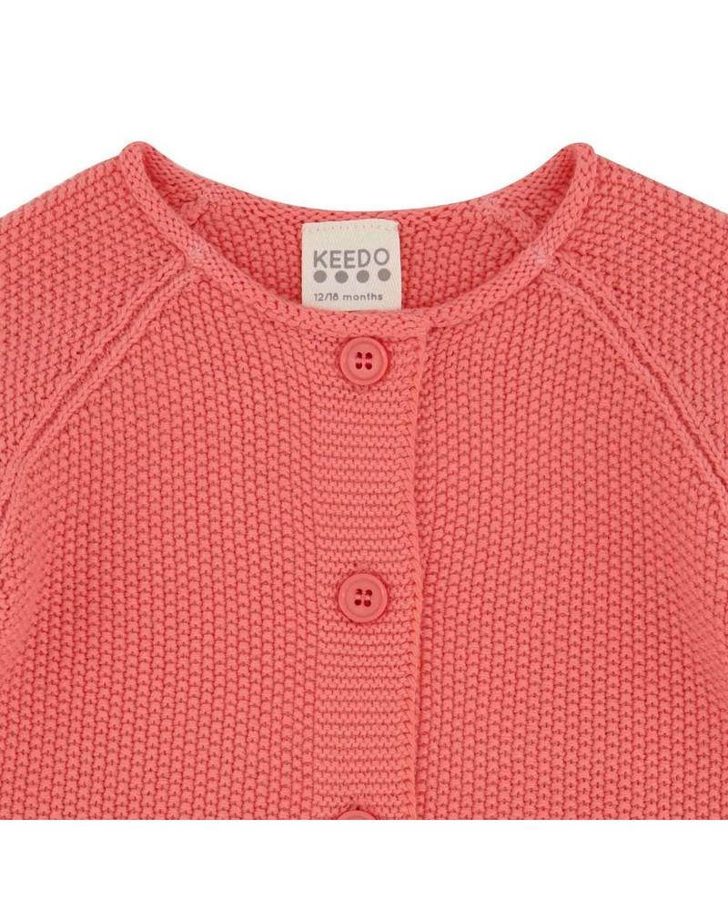 Baby Girls Lucia Cardigan  -  pink