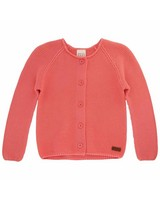 Girls Lucia Cardigan  -  pink
