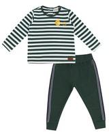 Baby Boys Landyn Set  -  darkgreen