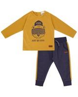 Baby Boys Omar Set  -  mustard