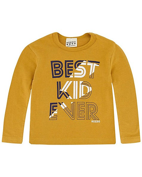 Baby Boys Kian Set  -  mustard