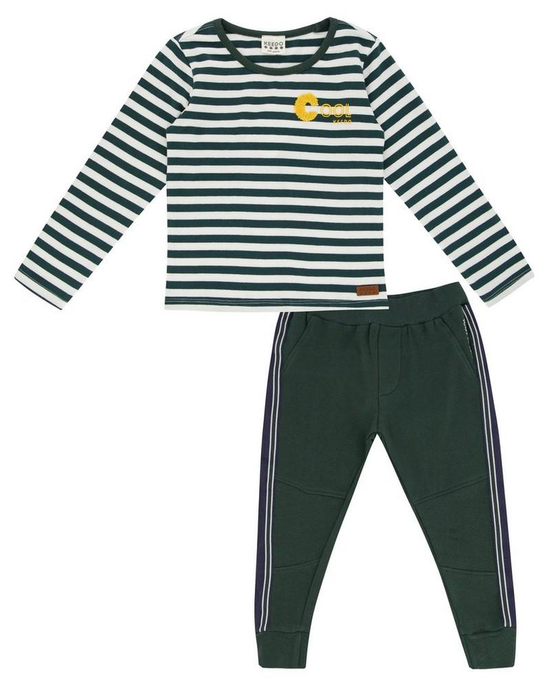 Boys Landyn Set  -  darkgreen