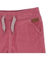 Baby Girl Carey Corduroy Pants  -  lightpink