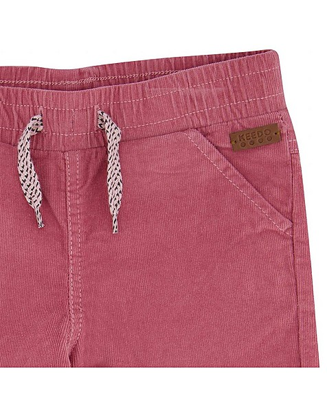 Girls Carey Corduroy Pants  -  lightpink