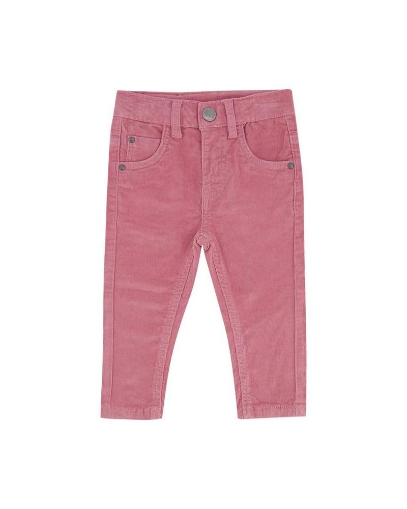 Baby Girls Winona Corduroy Pants -  lightpink