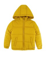 Boys Miller Puffer Jacket -  eggyellow
