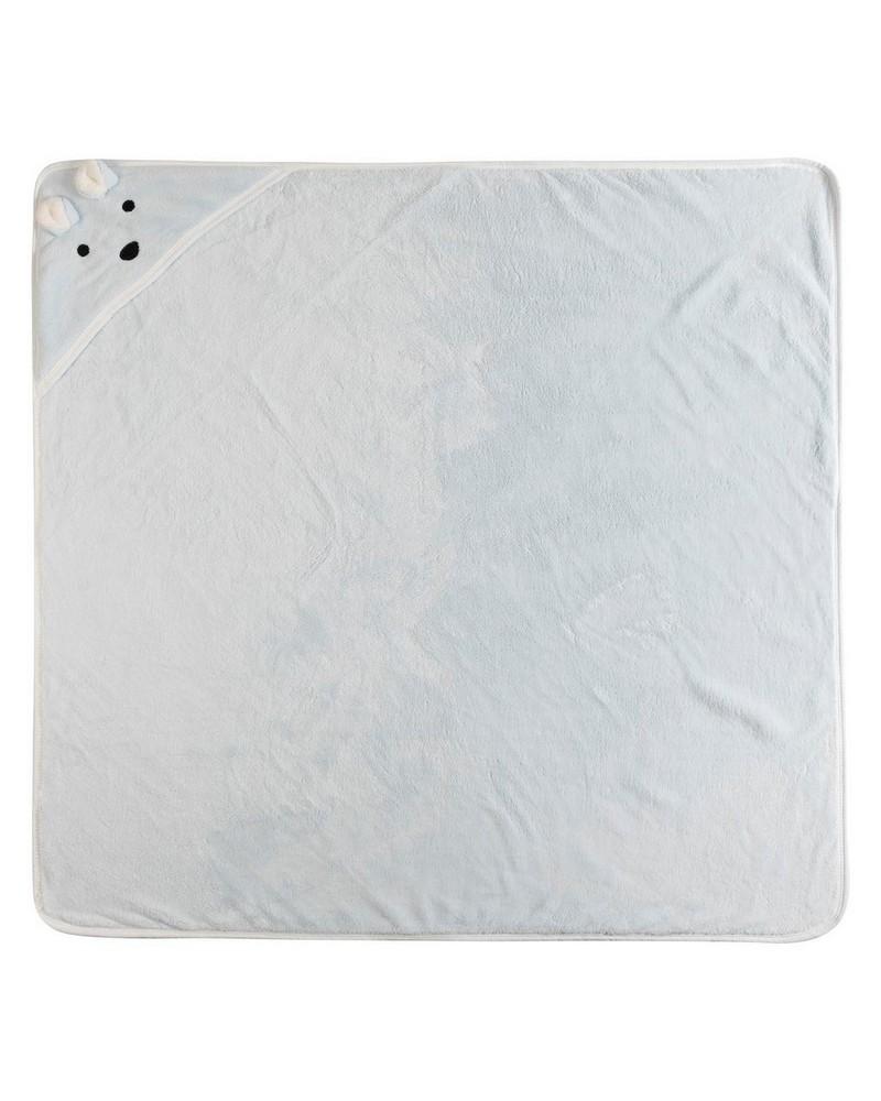 Charlie After-Bath Towel Wrap -  lightblue