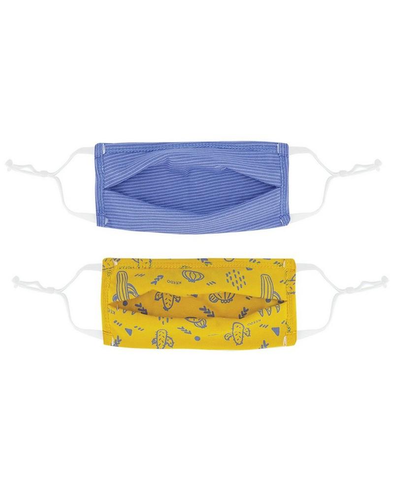 Boys Keedmask 2-Pack Toggle Masks  -  assorted
