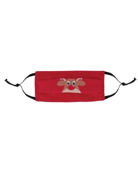 Keedmask Rudolf Toggle Mask -  red