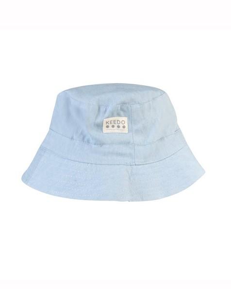 Chambray Bucket Hat -  midblue