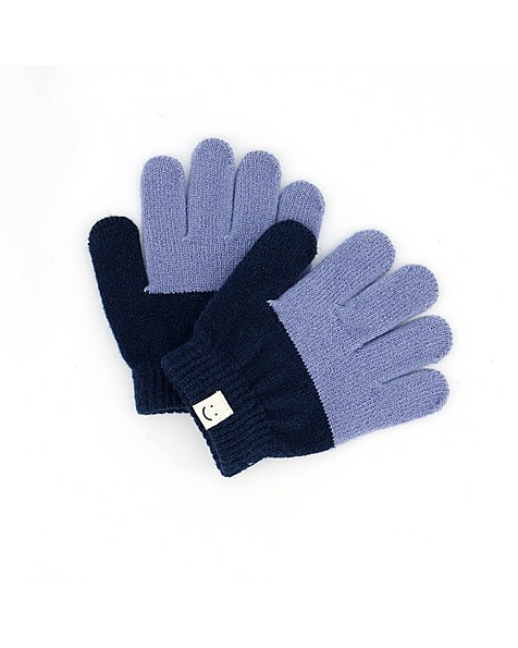 Luke Beanie & Glove Set -  midblue