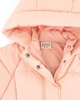 Girls Rylee Puffer Jacket -  pink