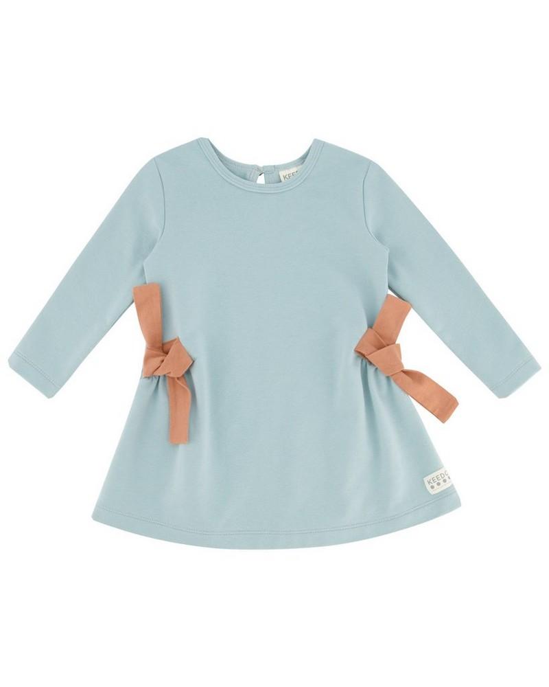 Baby Girls Rayne Dress -  iceblue