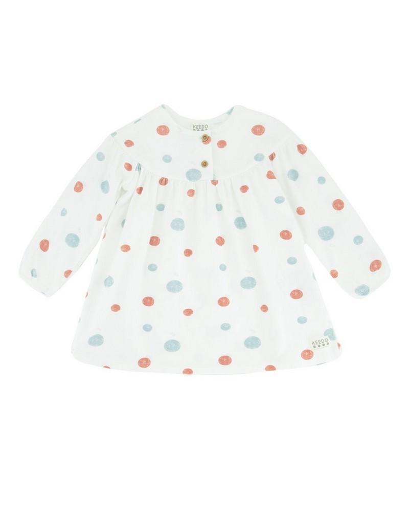 Baby Girls Nevada Dress -  milk