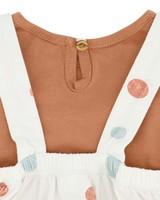 Baby Girls Ellery Pinni Set -  milk