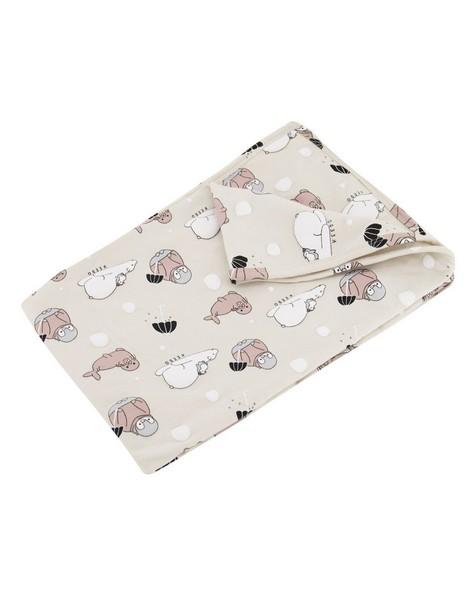 Babies Oakley Blanket -  oatmeal