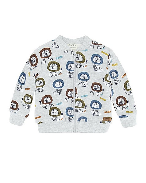 Baby Boys Porter Soft Jacket -  silvergrey