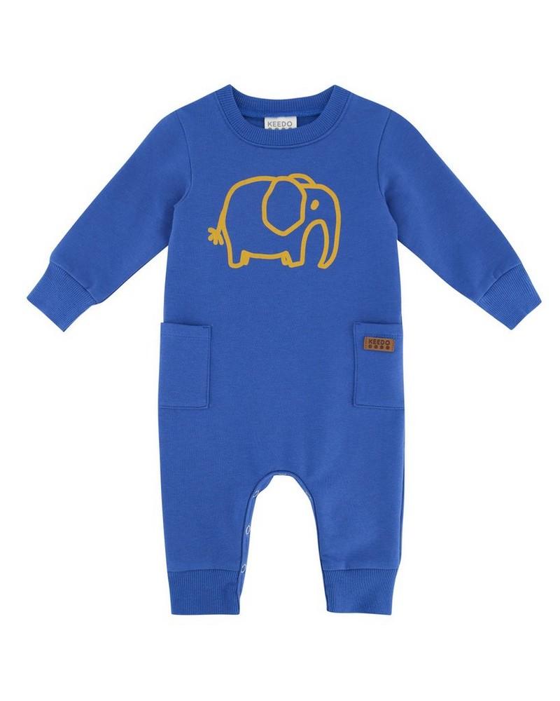 Baby Boys Leo Grow -  cobalt