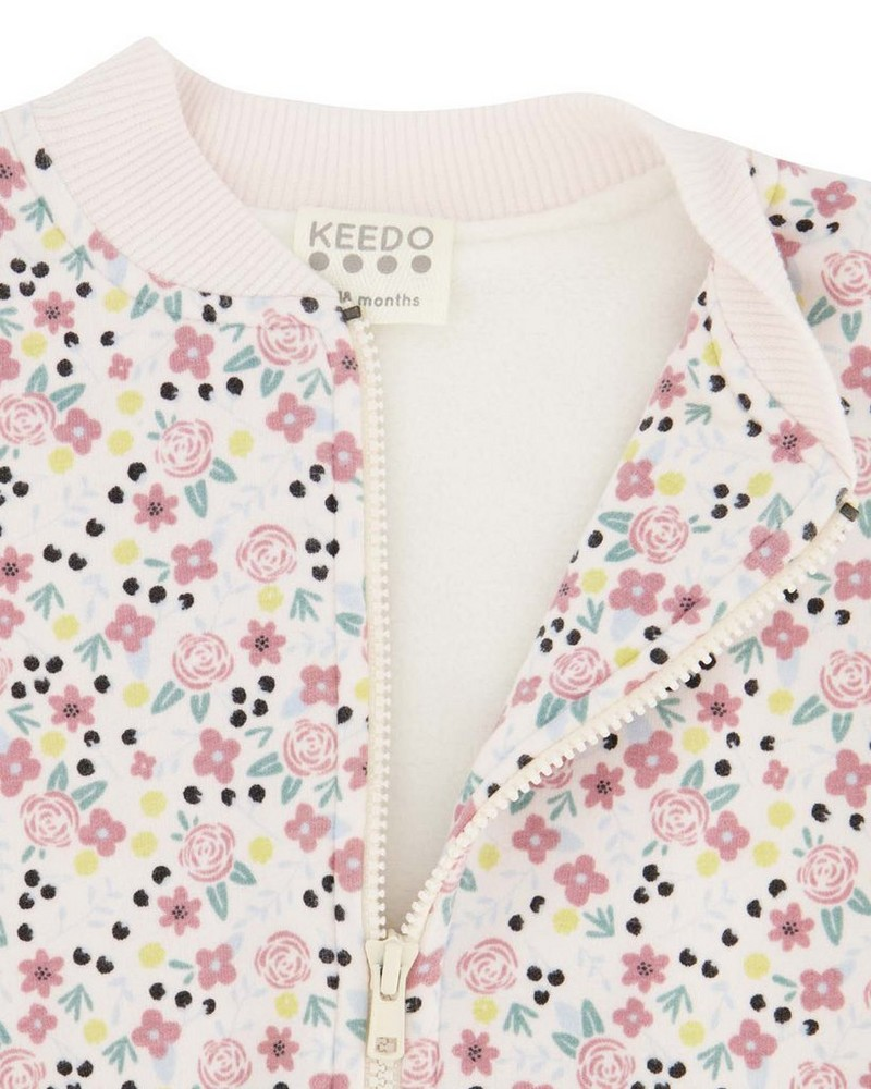 Baby Girls Brea Soft Jacket  -  assorted